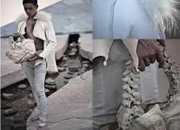 用兒童骨頭製成的皮包,一張鱷魚皮做成的皮夾克,貧窮限制想象