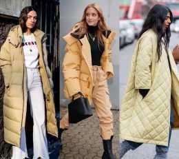菱形格羽絨服才是時髦精首選,保暖輕盈又摩登,承包你的冬季時尚